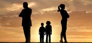separación de la pareja con hijos